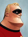 Mr. Incredible by Mike Mitchell - disney photo