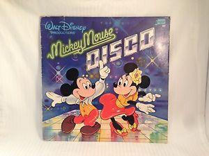 """1979 Disney Disco Album, """"Mickey Mouse Disco"""""""