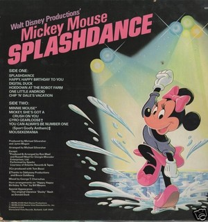 "1983 Disney Album, ""Splash Dance"""