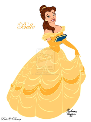 Дисней Princess, Belle