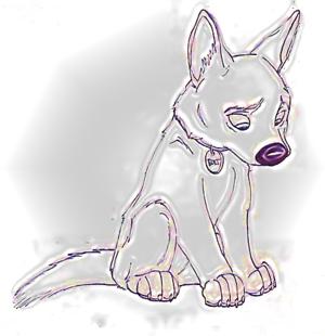 Bolt is sad