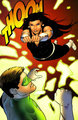 Donna Troy versus Hal Jordan - dc-comics fan art