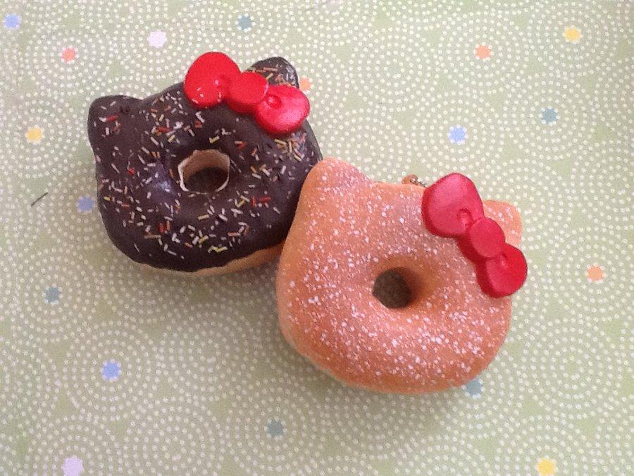 Squishy Tagalog : hello kitty donuts----- - Donuts Photo (36793657) - Fanpop