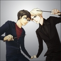 Draco Malfoy vs Harry Potter - draco-malfoy fan art