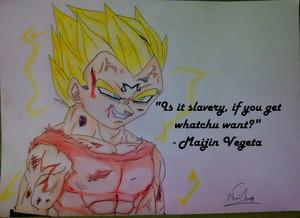 Majin Vegeta ♥