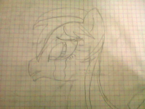 Crying Pony-Rainbow Flower
