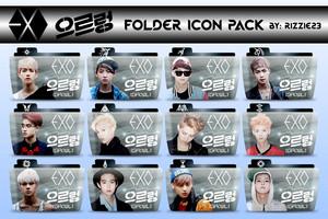 folder شبیہ exo