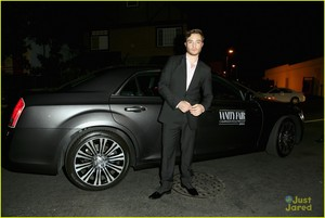 Ed Westwick: 'Vanity Fair' Young Hollywood Party 2014