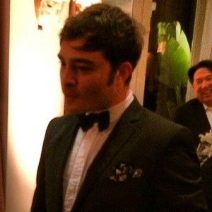 Ed Westwick at the Annual Night Before the Oscars Gala, 1st March 2014