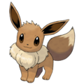 Eevee, the evolution pokemon