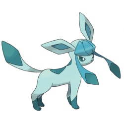 Glaceon, the fresh snow pokemon