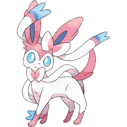 Eevee Images Sylveon The Interwining Pokemon Wallpaper And Background Photos