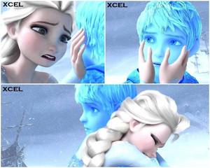 Elsa freezes Jack
