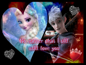 Jack frost and Elsa No matter what