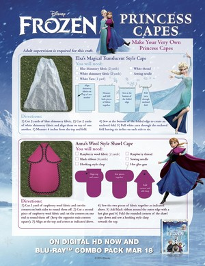 La Reine des Neiges Princess Capes