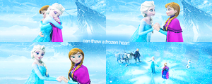 Only an act of true amor can thaw a frozen corazón