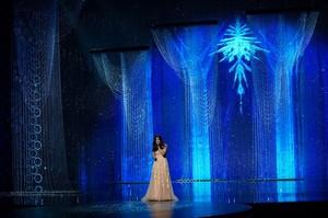 Idina Menzel performing Let it go a the Oscars