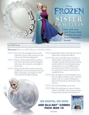 फ्रोज़न Sister Bracelets
