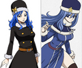 Fairy Tail characters: New animé design.