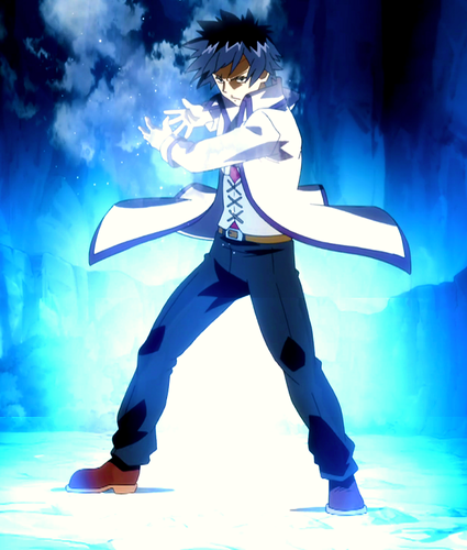 Fairy Tail wallpaper possibly with a well dressed person, a hip boot, and tights titled Gray Fullbuster