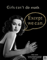 Girls can't...
