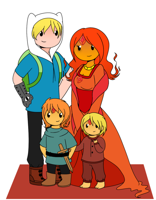finn and flame family ...