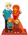 finn and flame family