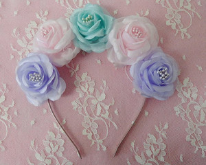 Pastel Dream blume Crown
