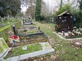 Freddie Mercury's final resting place  - celebrities-who-died-young photo