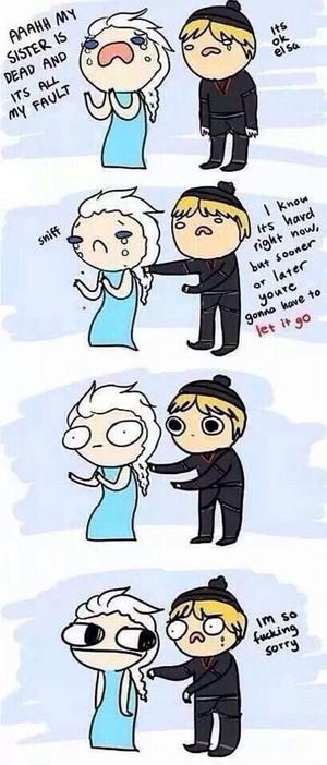 Elsa, Let It Go