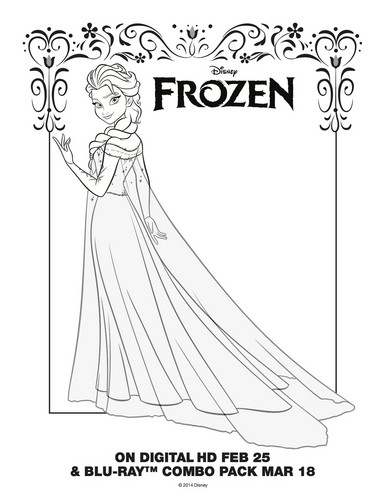 Frozen images Frozen Elsa Coloring Page HD wallpaper and