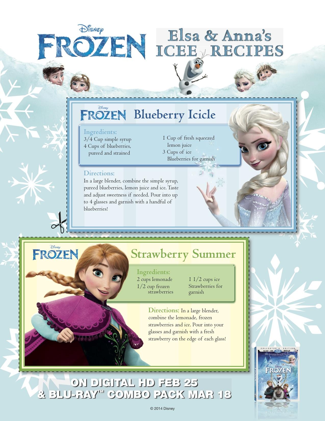 Frozen - Elsa and Anna's Icee Recipe