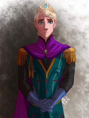 Genderbent!Elsa