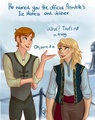 Genderbent!Kristoff and Anna