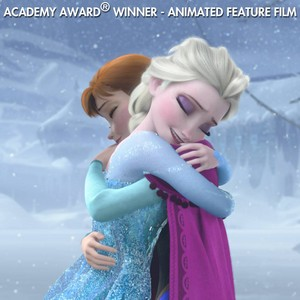 Frozen Academy Award Winner Best Animated Feature Film