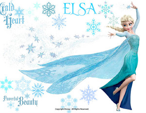 Elsa Picture I Made with Disney Create