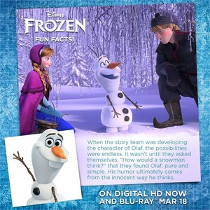 Frozen - Uma Aventura Congelante Fun Facts: About Olaf