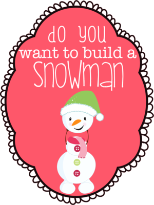 Do আপনি Want to Build a Snowman?