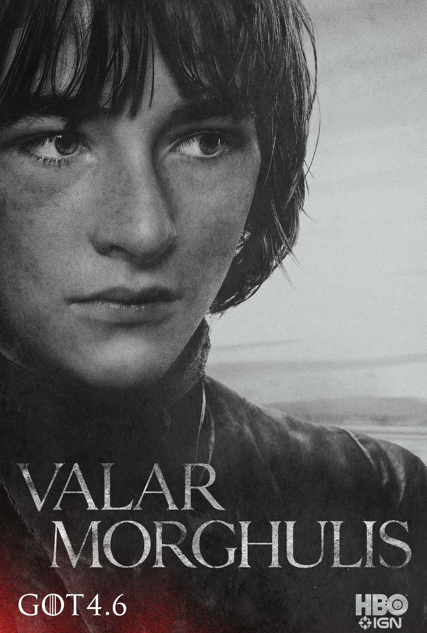 Bran Stark - Character poster