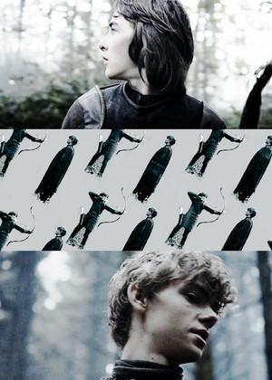 Jojen Reed & Bran Stark