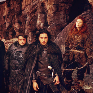 Samwell, Jon & Ygritte