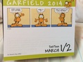 My Garfield calendar.  - garfield photo