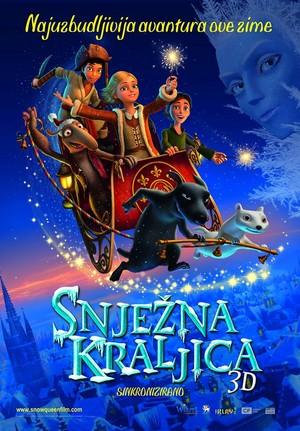 The Snow queen Croatian Poster