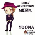 Yoona ~ Mr.Mr चीबी