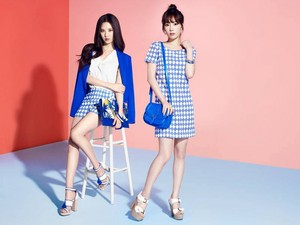 Taeyeon with Seohyun for 'MIXXO'