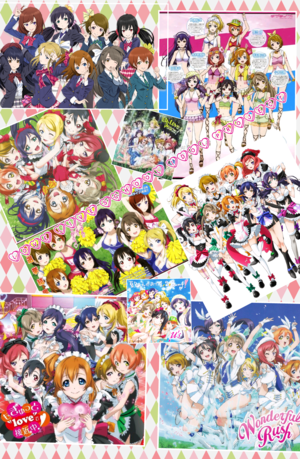 l'amour live school idol project collage