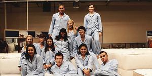 Glee Cast in Matresses