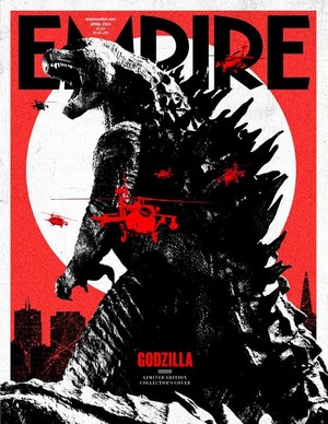 Empire Magazine Cover- GODZILLA