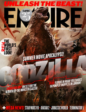 Godzilla New Empire Magazine Cover