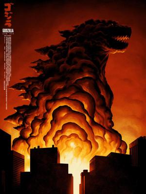 Godzilla 2014 Mondo Poster